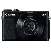 佳能 PowerShot G9X 数码相机 黑色 (2020万有效像素 DIGIC6处理器 28-84mm变焦)