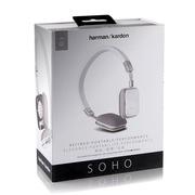 哈曼卡顿 SOHO 头戴式便携耳机 安卓版 白色
