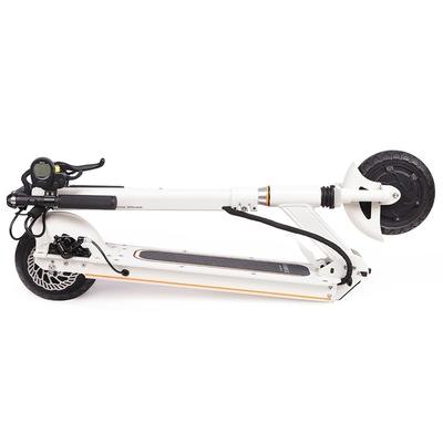 乐步 锐动T3(白色) 电动滑板车锂电池随身车成人迷你可折叠代步车自行车电动车 5档变速便捷安全产品图片2