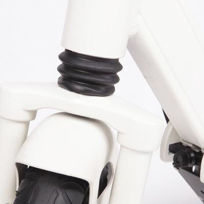 乐步 锐动T3(白色) 电动滑板车锂电池随身车成人迷你可折叠代步车自行车电动车 5档变速便捷安全产品图片3