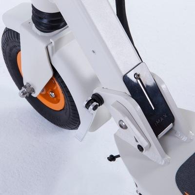 乐步 锐动T3(白色) 电动滑板车锂电池随身车成人迷你可折叠代步车自行车电动车 5档变速便捷安全产品图片5