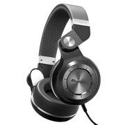 蓝弦 T2-WH 手机耳机 涡轮2代头戴式立体声HIFI有线耳机 黑色