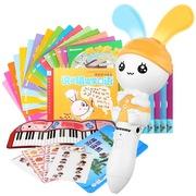 纽曼 20A 嗨嗨兔点读笔 8G 26本大书套装8G会叫宝宝名字的早教机幼儿童学习机0-3-4-6岁益智礼品