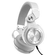 蓝弦 T2-WH 手机耳机 涡轮2代头戴式立体声HIFI有线耳机 白色
