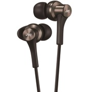 JVC HA-FX46-B 新一代入耳式同色线高磁力钕磁铁音乐耳机 VGP 2014 SUMMER获奖产品