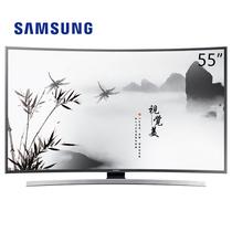 三星 UA55JU6800JXXZ 55英寸 4K超高清曲面智能 LED液晶电视 黑色产品图片主图