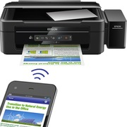 爱普生 L365 墨仓式 无线打印机一体机(打印 复印 扫描 Wifi)
