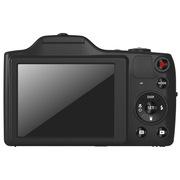 柯达 FZ152 数码相机 黑色 (1615万像素 3英寸屏 15光学变焦 24mm广角 720P高清拍摄)