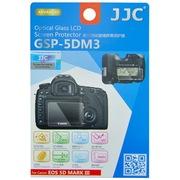 JJC GSP-5DM3 专用高透防刮钢化玻璃屏幕保护贴膜 静电液晶膜(适用佳能5D MARK III, 5DS, 5DS R)