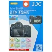 JJC GSP-5DM3 专用高透防刮钢化玻璃屏幕保护贴膜 静电液晶膜(适用佳能5D MARK III, 5DS, 5DS R)产品图片主图