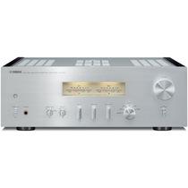 YAMAHA A-S1100 Hi-Fi立体声功放机(2*90W)合并式功率放大器 银色产品图片主图
