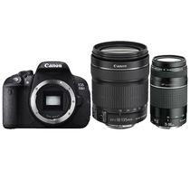 佳能  EOS 700D 单反套机 (EF-S 18-135mm f/3.5-5.6 IS STM+EF 75-300mm f/4-5.6 III USM镜头)产品图片主图