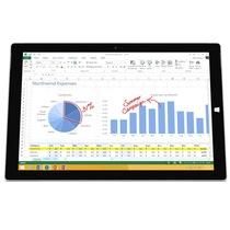 微软 Surface Pro 3 专业版 12英寸笔记本(i5/4G/128G/核显/Win10/银色)产品图片主图