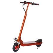 奥普  LS-23橙色智能电动滑板车 便携式折叠成人锂电电动车10.4ah