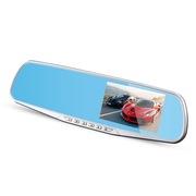 方正科技 K360 后视镜行车记录仪 1080P高清夜视超广角 双镜头 倒车可视
