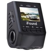 方正科技 K600 隐藏式行车记录仪 1080P高清夜视超广角 迷你智能防抖 170°大广角