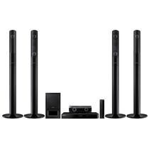 三星  HT-J5550WK 家庭影院 5.1声道3D蓝光无线音响 支持NFC/蓝牙电视音箱 黑色产品图片主图