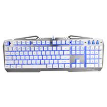 狼派 G13 虚空战舰战舰银 七色背光游戏键盘防水金属机械手感产品图片主图