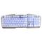 狼派 G13 虚空战舰战舰银 七色背光游戏键盘防水金属机械手感产品图片1
