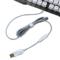 狼派 G13 虚空战舰战舰银 七色背光游戏键盘防水金属机械手感产品图片4