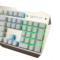狼派 X06 虚空风暴机械键盘104键 背光红轴土豪金混彩版金属游戏键盘产品图片3