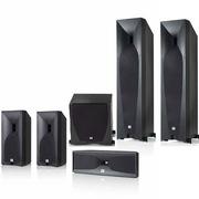 JBL STUDIO 5系列5.1豪华家庭影院套装 (主音箱570BK) 黑色