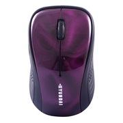 现代  HY-N25 2.4G 智能电源管理 无线鼠标 炫彩红