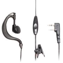 自由通 QS-056B 耳挂式耳机耳麦 适用于自由通及兼容建伍口(K头)所有型号对讲机产品图片主图
