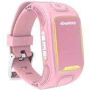 阿巴町  3定制版 儿童智能手表电话 360度定位防丢 学生智能通话手表 粉色