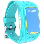 阿巴町  3定制版 儿童智能手表电话 360度定位防丢 学生智能通话手表 蓝色