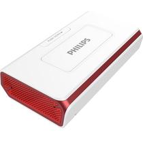 飞利浦 DLP8082 商务精英 无线蓝牙音箱/插卡音箱/车载音响 电话会议扬声器/免提通话/移动电源 红色产品图片主图