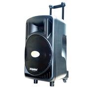 ZP-189 15寸低音80磁钢高音 带收音录音功能 音响 户外|广场|移动|便携式|电瓶拉杆音箱