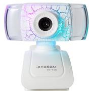 现代 摄像头电脑台式机免驱网络高清内置麦克风 HY-F10 白色
