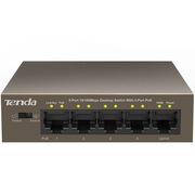 腾达 TEF1105P-4-63W  5口百兆4口POE供电交换机