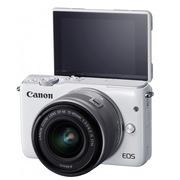 佳能 EOS M10 微型单电套机 白色(EF-M 15-45mm f/3.5-6.3 IS STM)