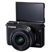 佳能 EOS M10 微型单电套机 黑色(EF-M 15-45mm f/3.5-6.3 IS STM)