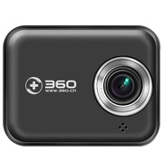 360 J501 超高清 广角夜视 循环录影 智能管理 黑色