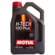 摩特(MOTUL) H-TECH 100 PLUS 10W40 全合成机油 4L