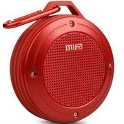 MIFA F10 户外便携式无线蓝牙音箱4.0低音炮免提通话迷你小音响IP56级防尘防水 激情红