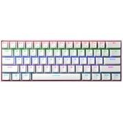 ROYAL KLUDGE 61蓝牙有线无线双模式机械键盘粉色混光青轴
