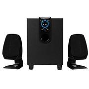 金正 SA-3301 电视迷你组合音响 木质有源音箱(黑色)