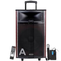金正 AVS-618E(二炮12号)广场舞音箱 户外音响 移动大功率无线麦克风蓝牙低音电瓶音箱(棕色)产品图片主图