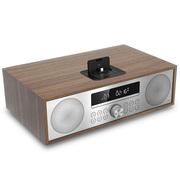 JBL MS402WALCN 多媒体组合CD音箱蓝牙桌面HIFI音响迷你台式迷你组合音箱(流光棕)