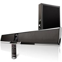 索爱 SA-C10 家庭影院回音壁音响电视音箱虚拟5.1无线蓝牙音箱 超重低音炮音箱 (黑色)产品图片主图