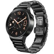 华为 HUAWEI WATCH 华为手表 动感系列(曜石黑) 黑色不锈钢三珠表带