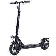 九悦 X1黑色 电动滑板代驾代步车 可折叠便携电动车