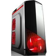 撒哈拉 战舰X3 黑色 台式电脑主机游戏机箱(0.7加厚板材/支持ATX大板/支持120水冷)