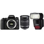 佳能 EOS 760D 单反套机 (EF-S 18-200mm f/3.5-5.6 IS镜头+430EX II 闪光灯)