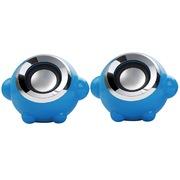 本手 F3 音箱音响便携低音炮套装组合小对箱 蓝色