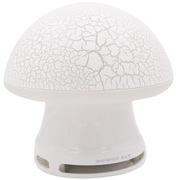 本手 TK12 音箱音响便携七彩裂纹发光个性蘑菇 白色